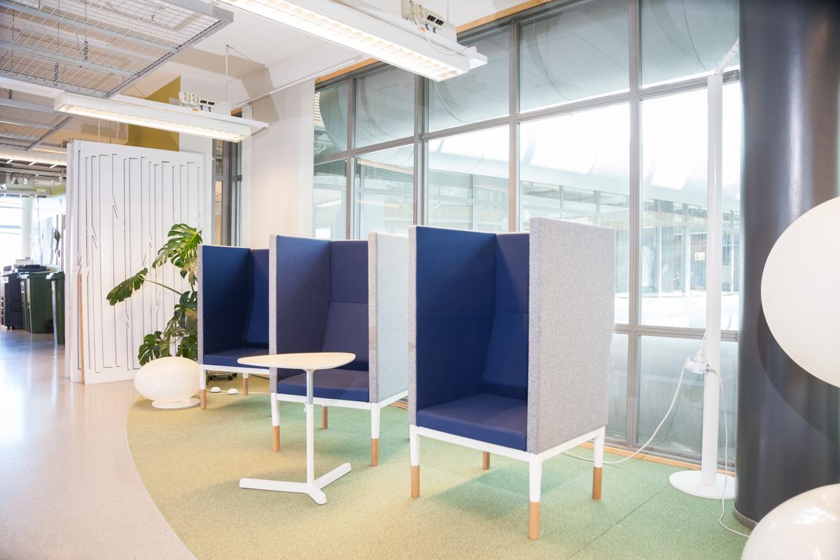 Helsinki Business Hubin tilasuunnittelu Kuva: Tommi Aittala