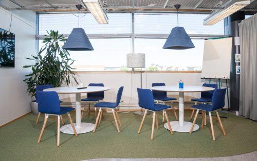 Helsinki Business Hubin tilasuunnittelu